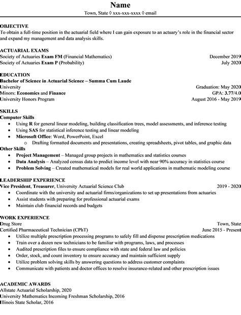 resume actuary reddit advice on obtaining an actuarial position be an actuary - Actuary Resume