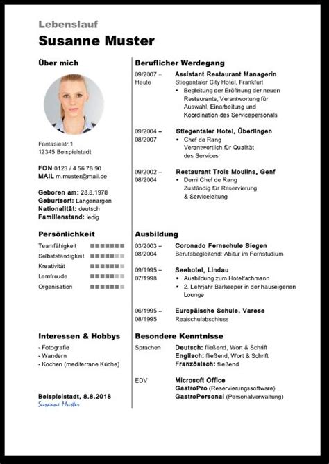resume auf deutsch muster lebenslauf downloaden deutsch englisch e fellows - Europischer Lebenslauf Muster