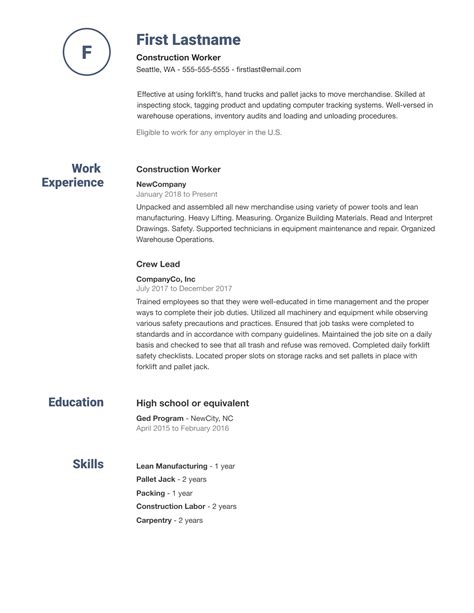 make your own job resume resume builder create a professional resume in minutes