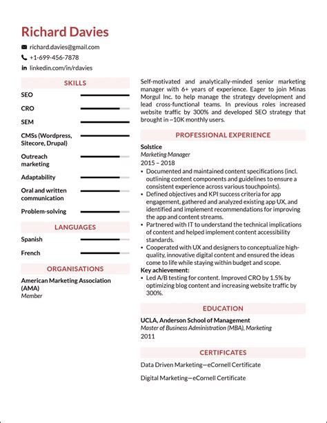 resume builder for freshers free download accounting resume free