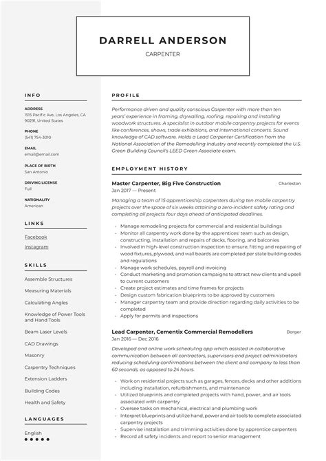 residential superintendent resume samples construction superintendent resume samples jobhero carpenter resume image nametips carpenter resume - Construction Superintendent Resume Examples And Samples