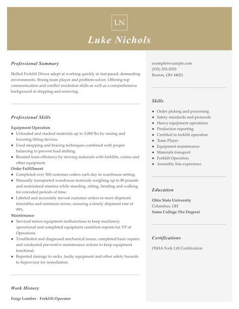 resume machine job resume sample machine operator jobs format x