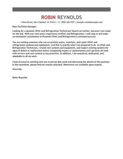 cover letter for central service technician - Service Technician Cover Letter