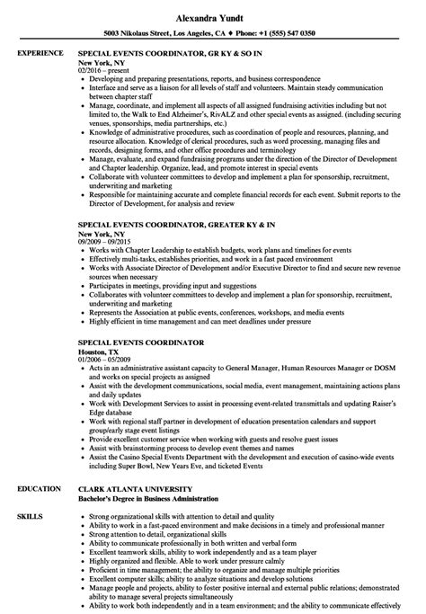 resume event manager special events manager resume samples jobhero - Event Manager Resume