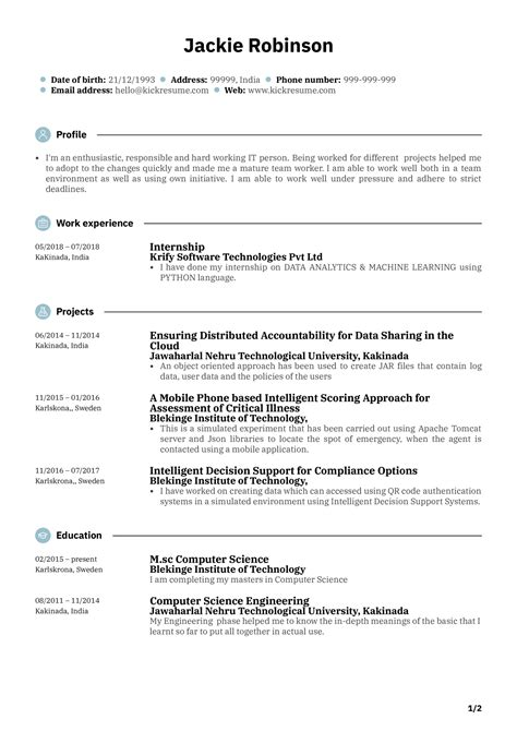 Resume Resume Example Junior Programmer resume example junior programmer rapattoni corporation
