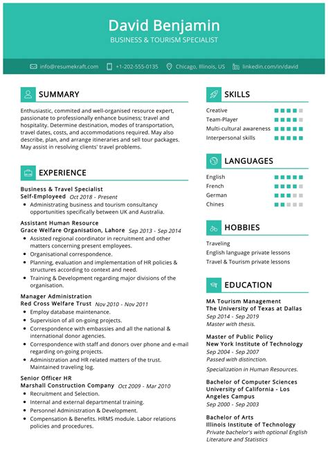 Resume Example Travel Agent Travel Agent Resume Example Resume Writing Resume