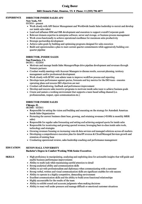 resume examples for outside sales representatives 20 free sales resume examples job interview career guide - Outside Sales Resume Examples