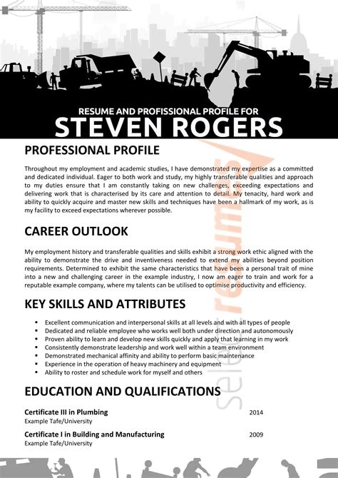 resume examples australia mining mining resume how to write a mining focused resume