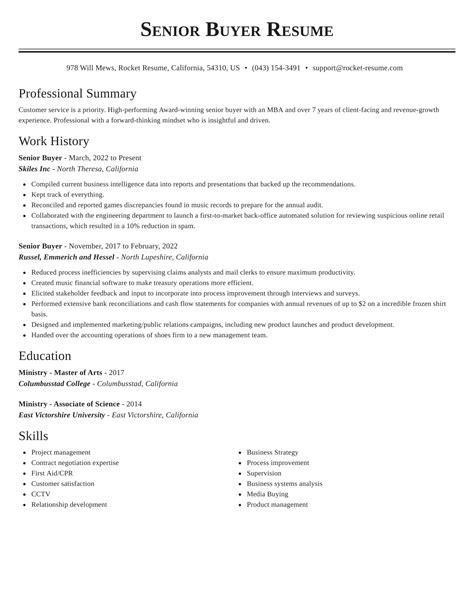 Buyer Resume Accomplishment Imagerackus Ravishing Purchase purchase buyer  resume buying resume purchase officer senior manager resume