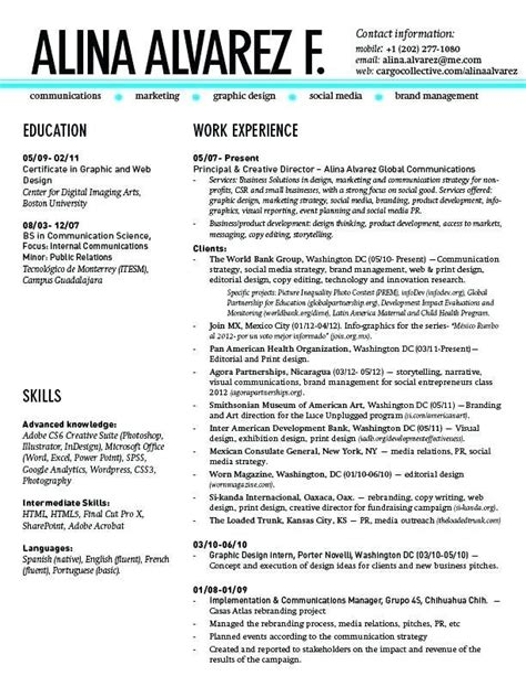 resume examples in spanish spanish phrases application rsum cv
