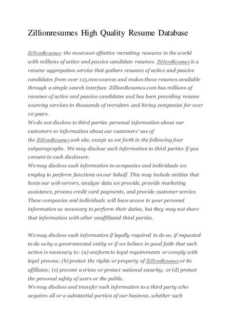 resume finder free zillionresumes resume search search resumes in our - Resume Finder Free