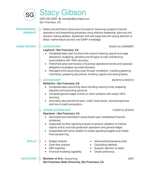 Resume For Accounting Job Accounting Resume Tips For Creating A Winning Resume