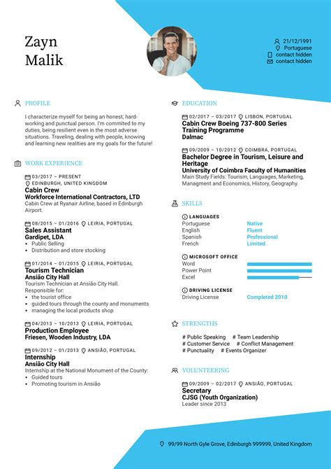 Resume For Service Crew Cabin Crew Member Resume Sample