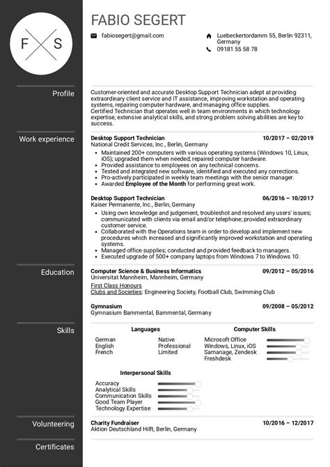 Resume For Teachers Job Doc Help Your Rsum Stand Out In Job Search Aarp