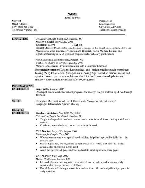 resume for older workers resume formats graduate school
