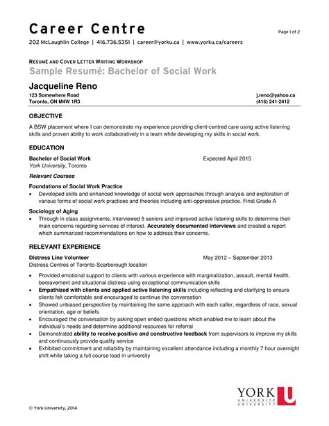 resume for graduate school in social work school of social work texas am university commerce