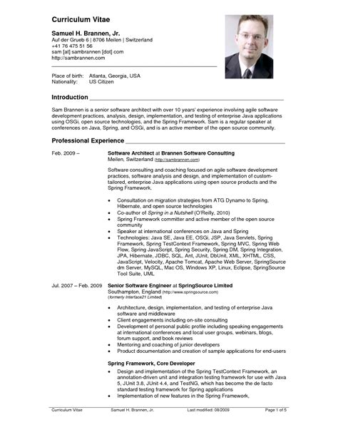 Resume Format Pdf Latest