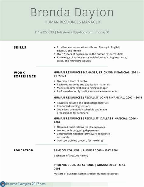 resume format for visual merchandiser free resume templates word