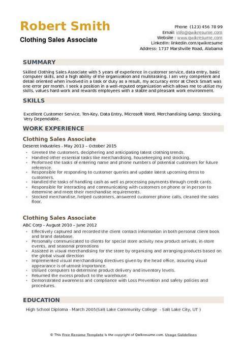 retail sales associate resume sales retail resume for job retail sales associate resume sales r5itpgpz resume - Sample Resume For Entry Level Retail Sales Associate