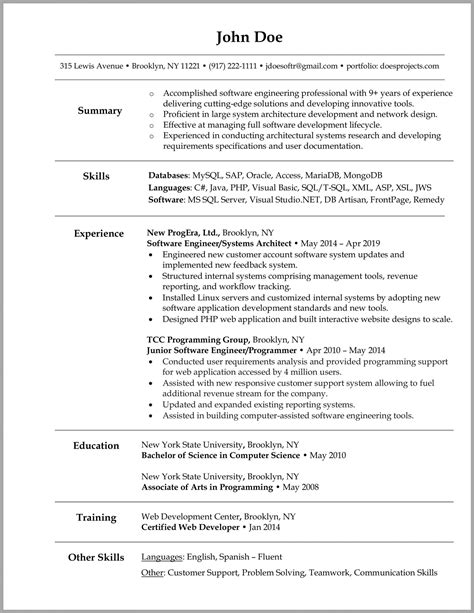resume format for computer engineers computer engineer resume sample computer engineering resume examples - Resume Computer Science Engineer