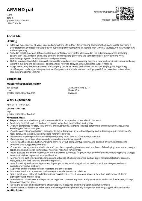 Clinical & report writing | Auxiliis Pharma editor and writer resume ...