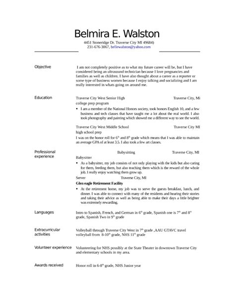 Resume Format For Medical Lab Technician Entry Level Sonographer Sample Resume Example