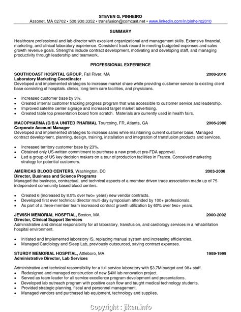Resume Format For Medical Lab Technician Lab Manager Resume Samples Jobhero