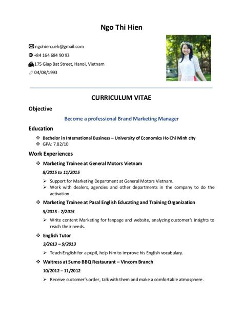 resume format ngo jobs resume format with photo templates