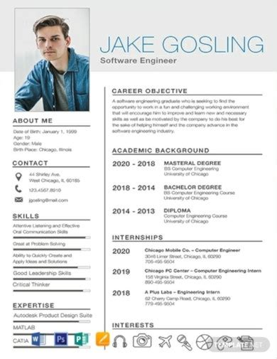 Resume Format Pdf Format Resume Template 92 Free Word Excel Pdf Psd Format