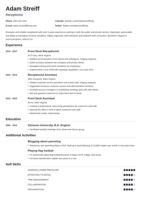 Resume Format For College Placement Top 12 Tips To Perfect Your College Application Resume