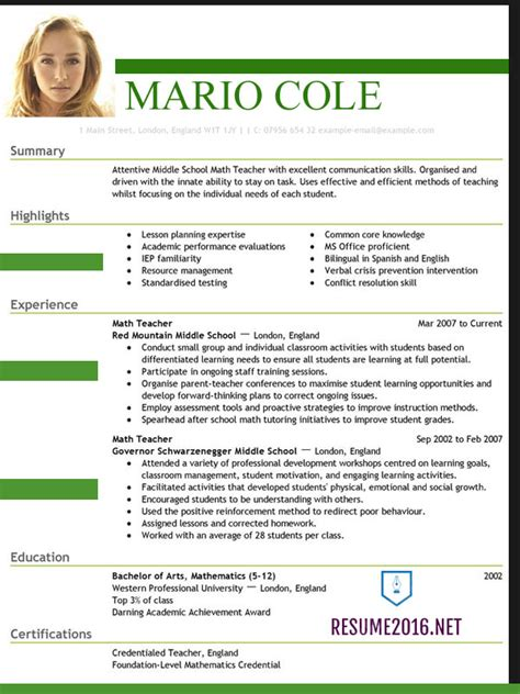 Resume Formats Ms Word The Right Resume Fonts Will Make A Difference