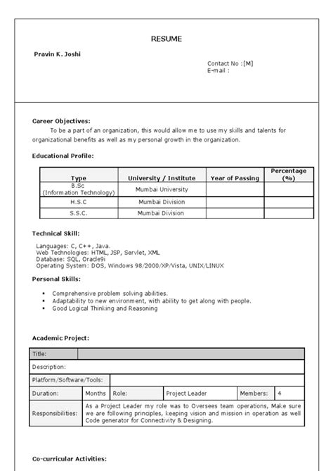 Resume Guidelines Tips Resume Guidelines Bob La Follette