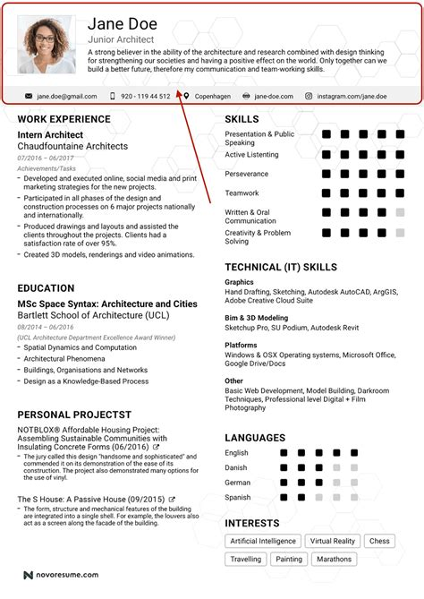 resume header template word what your resume should look like in 2017 money