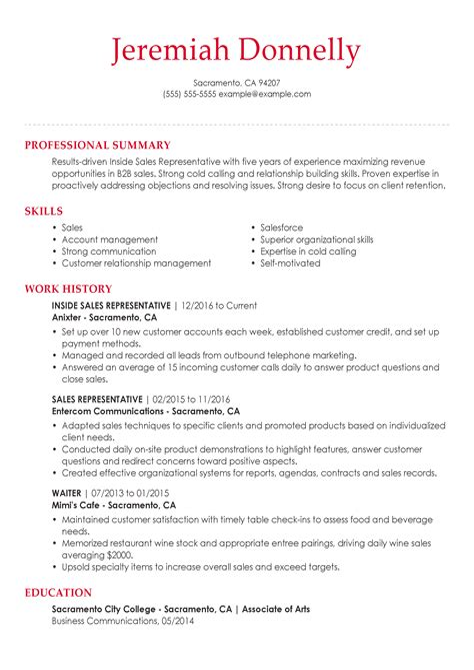 Resume Job Descriptions Retail Sales Associate Sales Representative Job Description Example Duties