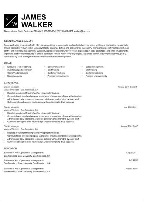 resume maker free download mac 40 best free resume templates to download design posts - Resume Maker Free Download