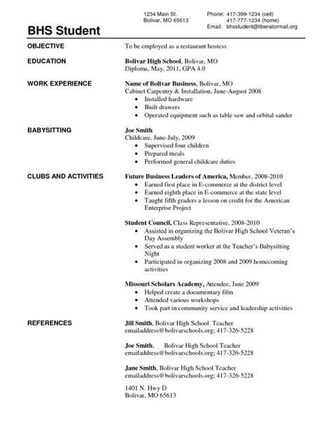 resume no work experience high school graduate sample resume vce no paid work experience - Sample Resume For High School Graduate With No Work Experience
