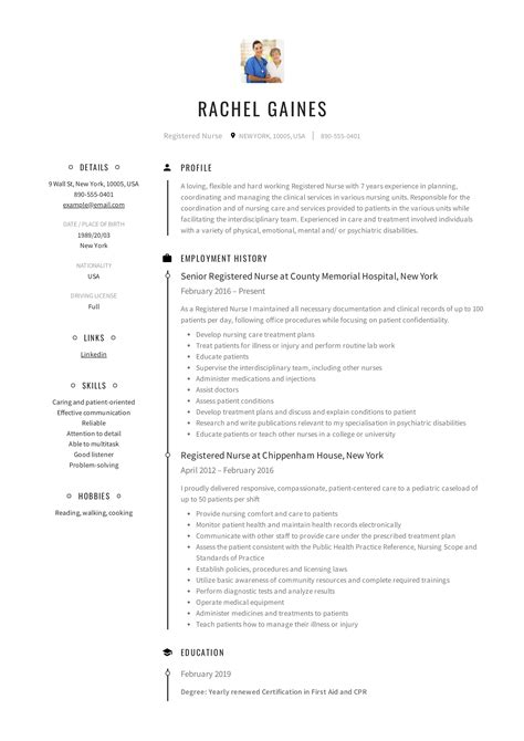 nursing unit clerk sample resume professional nursing unit clerk