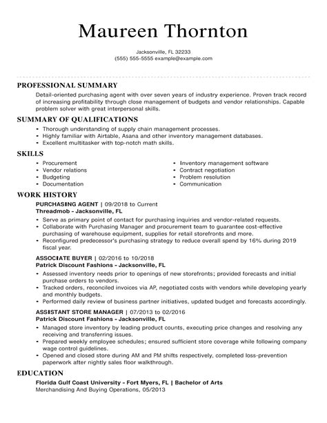 resume resume objective for buyer example resume objective for buyer example writing training objectives o resumebaking - Buyer Resume Objective