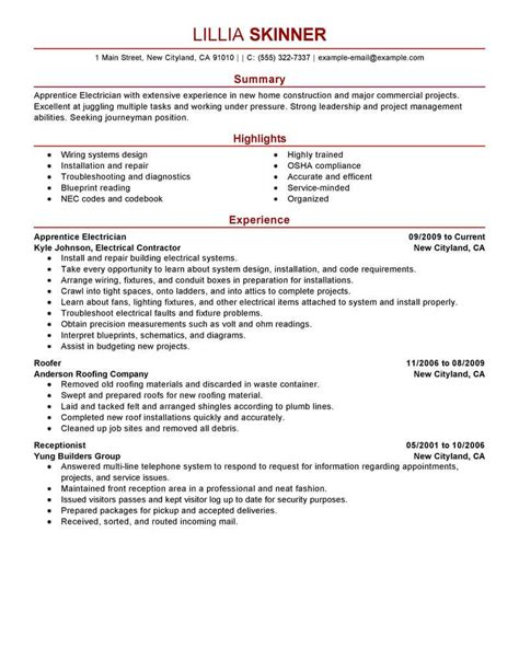 Buzzwords For Resumes Resume For Electrician Google Search Electrician Apprentice  Skills On A Resume Example Pdf with Should I Put My Picture On My Resume Pdf Resume Objective Examples Electrician Apprentice Contract Work Apprentice Electrician  Resume Summary Of Resume