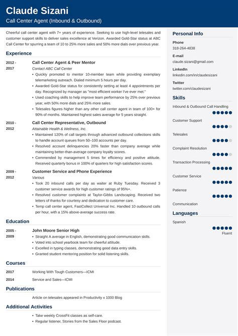 resume tour guide example resume objective examples and writing tips the balance