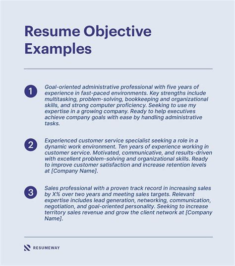 Resume Objective Changing Industry Resume Objective Examples Lovetoknow