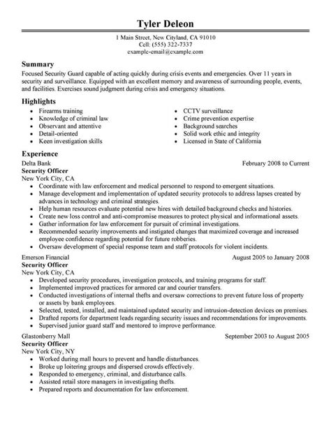 Writing A Personal Statement For Law School Security Resume