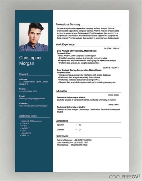 Fresher Resume for MBA Word Free Download Template net