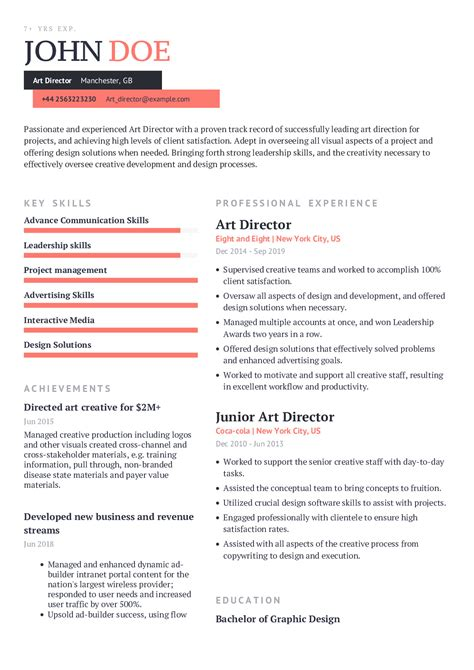 delighted creative manager resume examples pictures inspiration