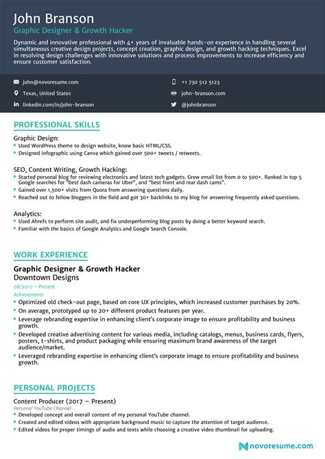 Resume Sample Format In Malaysia Combined Resume Format Samples For Senior Management