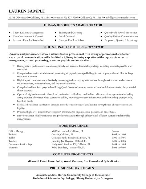 entry level human resources resume resume sample entry level hr assistant entry level human resource administration - Human Resources Administration Sample Resume