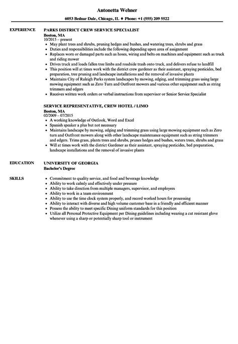 resume sample for dunkin donuts service crew job description example job descriptions