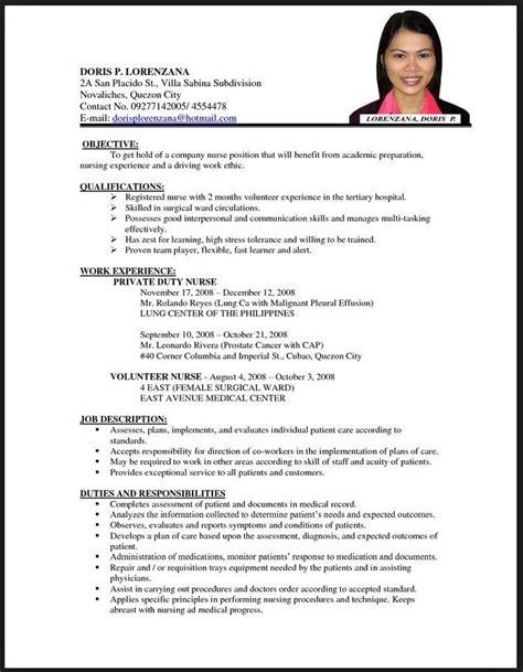 Resume Samples Registered Nurses 8 Nurses Resume Samples Examples Download Now
