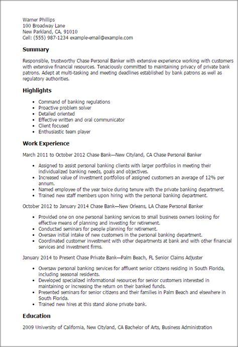 resume samples banking chase personal banker resume sample banker resumes resume samples banking chase personal banker - Sample Personal Banker Resume