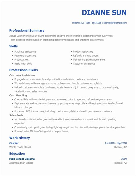 resume service linkedin - Sales Associate Resume Examples